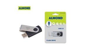 USB FLASH ALMOND TWISTER 8GB